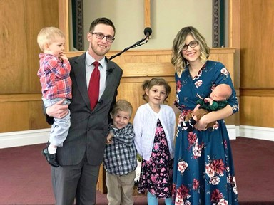 Pastor Logan J. Fowler and family
